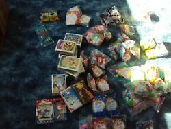 Huge Lot Of 113 Sealed Vintage Mcdonald's Happy Meal Toys Ty Beanie Babies Rare