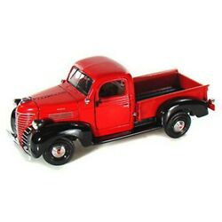 73278 1941 Plymouth Pickup124 Motormax Color Red Not Window Box