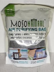 Moso Bag All Natural Charcoal Air Purifier Odor Eliminator Charcoal Color 500g