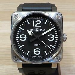 Bell And Ross Br03-92 Aviation Men's Watch Black