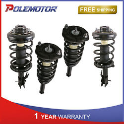 Kit4 Front And Rear Left And Right Complete Struts For Infiniti I30 Nissan Maxima