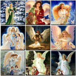 Angel Girl Diy Oil Painting By Numbers Kit Acrylic Paint Handicraft Home Decors