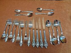 Oneida Raphael Deluxe Stainless 4 Of The 5 Piece Place Settings Free Shipping
