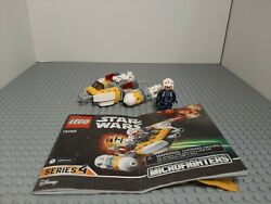 Lego Star Wars 75162 Y-wing Microfighter 100 Complete W/instructions