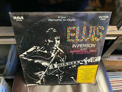 Elvis Presley From Memphis To Vegas 2x Lp Rca Victor Lsp-6020 Stereo Sealed