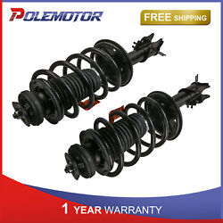 Pair Front Left And Right Complete Struts Shocks Assembly For 04-12 Chevy Aveo Fwd