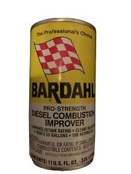 Vintage Nos Oil Can Bardahl Diesel Combustion - Gas And Oil Sign Oil Cans - 60's