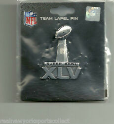 Super Bowl Xlv 45 Pittsburgh Steelers Green Bay Packers Pin North Texas New