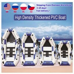 Pvc Inflatable Boat 3 Layer Inflatable Fishing Wear-resistant 2-6 Person Kayak