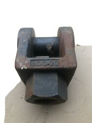 Bdc-20 New Old Stock Clevis Shackle Pin Machine Cylinder Part Gar4