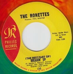 The Ronettes - Best Part Of Breaking Up Philles 120 Colored Wax Not A Repro