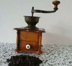 Pede Coffee Grinder Wood Body Germany Ex.conditions