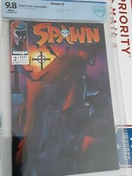 Spawn 2 Cbcs 9.8 1st Violator 2nd Appearance Of Spawn Todd Mcfarlane See My Oth