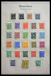 Lot 28685 Stamp Collection Germany 1946-1969.