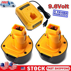 Dw9062 Dw9061 Ni-mh 3.6ah Battery For Dewalt 9.6 Volt Cordless Drill Or Charger