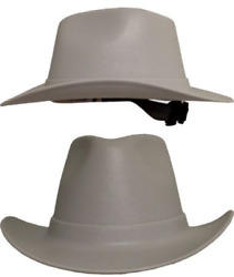 Occunomix Vcb200-11 Vulcan Cowboy Style Hard Hat With Ratchet Suspension Gray