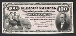 Argentina Banknote Proof Cat S 682