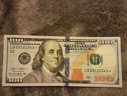 2009 100 One Hundred Dollar Bill Star Note Low Serial Numbers.