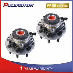 Lh And Rh Side Front Wheel Hub Bearing Assembly For Ford F-350 F-250 Excursion 4wd