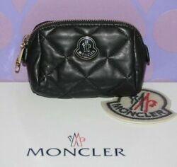 Moncler Coin Accessories Cosmetic Beauty Bag Organizer Pouch Wallet Purse Travel