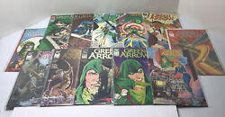 Vintage Lot Of 12 Green Arrow Comic Books Late 80's Early 90's