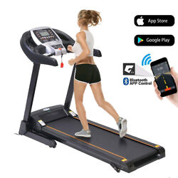 3.25hp Treadmill 8 Mph Home Commercial Fitness Training Equipment Cadio Machine
