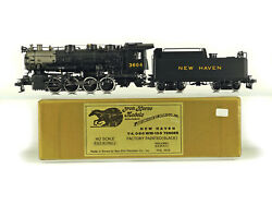Precision Scale Psc 17992.1 H0 Ho Brass New Haven Y-4 0-8-0 W/w-10-d Tender