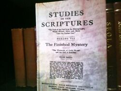 Very Rare Finished Mystery Early Edition 1918 Watchtower Jehovah