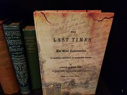 X-rare 1863 Last Times Joseph Seiss C.t. Russell Watchtower Related Research