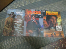 Dc Comics Preacher - Ancient History Proud Americans And Until End Of The World