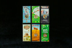 New Gift Coin Set 6 Colored Coins 25 Rubles Russian Soviet Animation 2017-2020