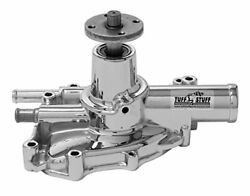 Tuff Stuff Water Pump 1625ng High Volume Chrome Aluminum For Ford 302/351w Sbf