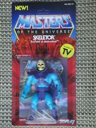 Masters Of The Universe Skeletor Action Figure Nib Super 7 Vintage Collection