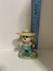 Vintage DOG with hat By CROWN ROYAL FIGURINE