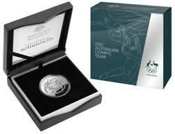 2020 Ram 5 1oz Fine Silver Proof Domed Australian Olympic Team Coin - Free Post