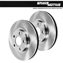 Front Premium Oe Plated Brake Rotors For 2015 Ford Mustang Gt Brembo Pkg
