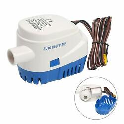 Automatic Submersible Boat Bilge Water Pump 12v 1100gph With Float Switch
