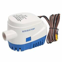 Automatic Submersible 1100gph Boat Bilge Water Pump 12v 3.8a With Float Switch