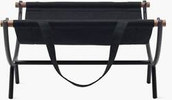 Authentic Aqus Furniture Nelson™ Fireplace Caddy   Design Within Reach