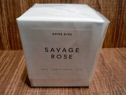 Extremely Rare Discontinued Anine Bing Savage Rose Candle