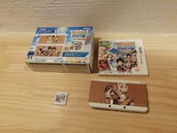Nintendo 3ds Dragon Ball Fusions Console Kisekae Pack Limited Model Boxed