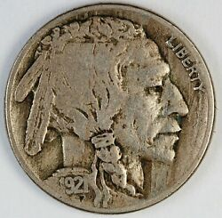 1921-s United States Buffalo Nickel 5 Cents - Vf Very Fine Condition