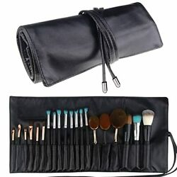 Makeup Brush Rolling Case Pouch Holder Cosmetic Bag Organizer Travel Portable $15.78