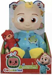 ⭐️ Cocomelon Musical Plush Bedtime Jj Doll With Sound ⭐️new