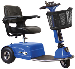 Amigo 3-wheel Mobility Scooter Hd In Blue Other Colors Available