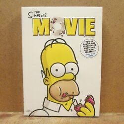 The Simpsons Movie, Dvd, Widescreen, 2007, Excellent, Watched 1 Time