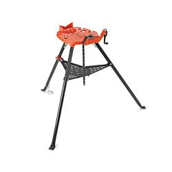Ridgid 36273 Portable Tristand Chain Vise 1/8 X 6 Rugged Leg Full Size Red New