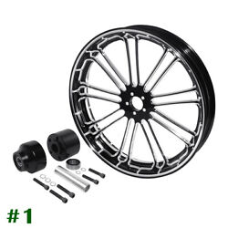 26 X3.5and039and039 Front Wheel Rim Hub Single Disc Fit For Harley Road Glide King 08-20