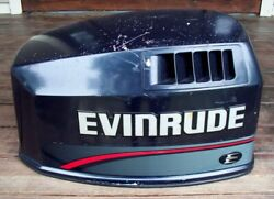 Johnson Evinrude 90 115 Hp Outboard Hood Cover Cowling Shroud Assy 1996