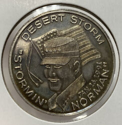 1oz .999 Silver Support Those Who Serve Our Country Desert Storm 1991